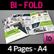 Products Catalogs Bi-Fold Brochure Template Vol.2