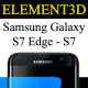 Download Element3D - Samsung Galaxy S7 & S7 Edge from 3DOcean