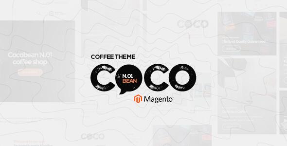Cocobean - Responsive Coffee Magento Theme