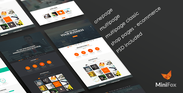 Download Minifox - Responsive Multi-Purpose WordPress Theme nulled download