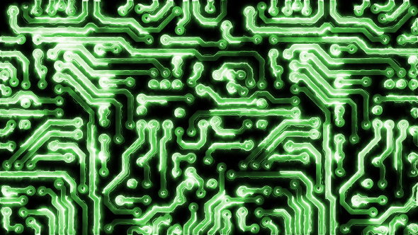 Download Circuit Board With Electric Signals nulled download
