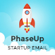 PhaseUp Start-Up E-Newsletter PSD Template