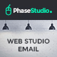 PhaseStudio - Web Studio E-Newsletter PSD Template