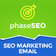 PhaseSEO - SEO Marketing E-Newsletter PSD Template