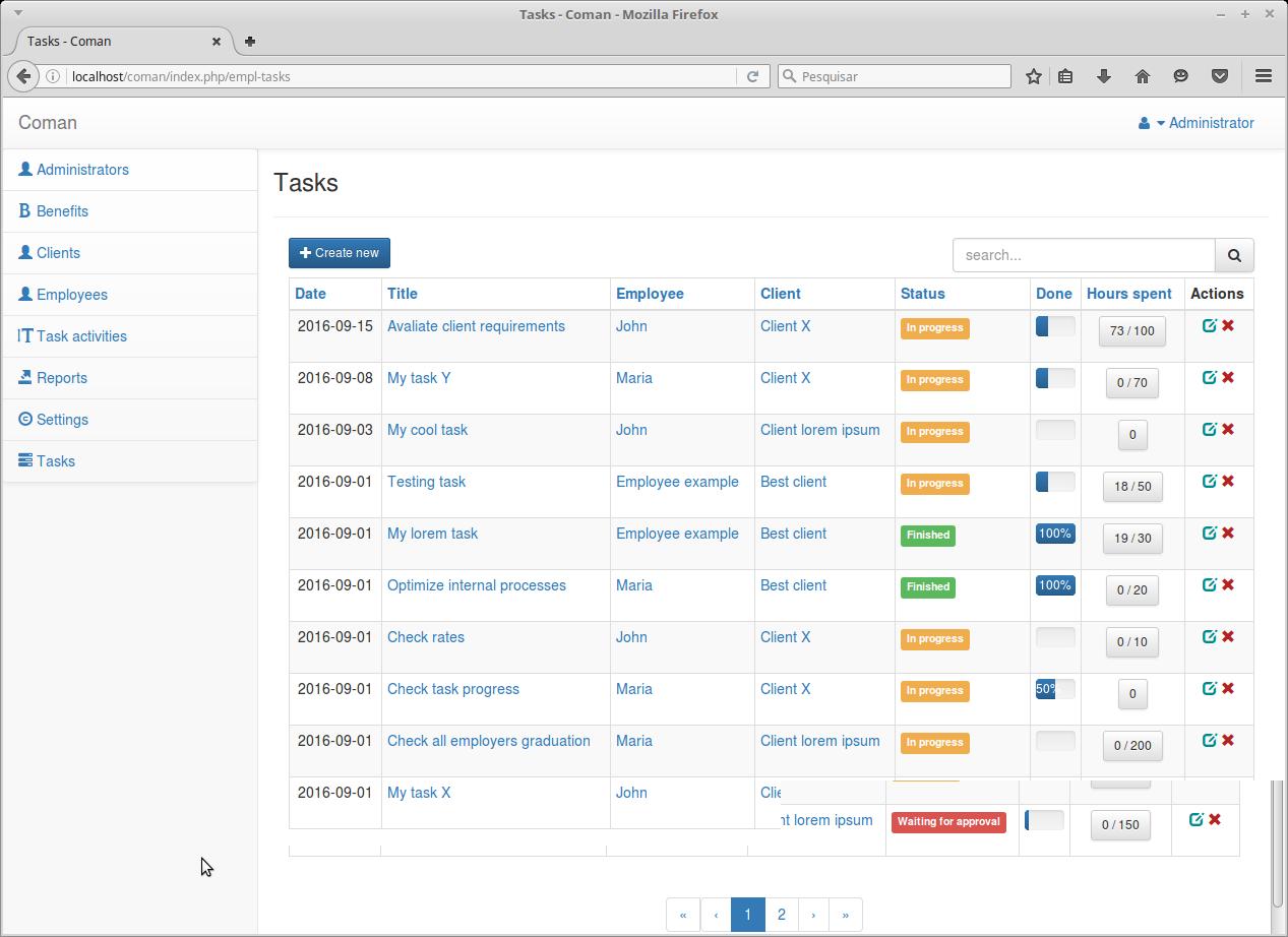 Coman - Company Management System