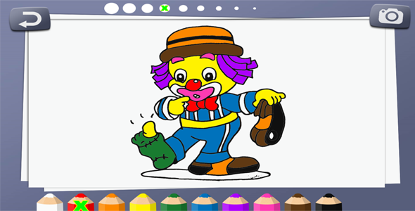 Download Coloring book for kids - HTML5 Educational Game nulled download