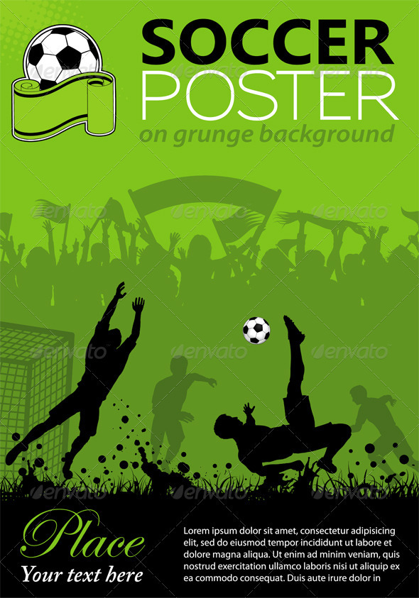 GraphicRiver Soccer Poster 1768542