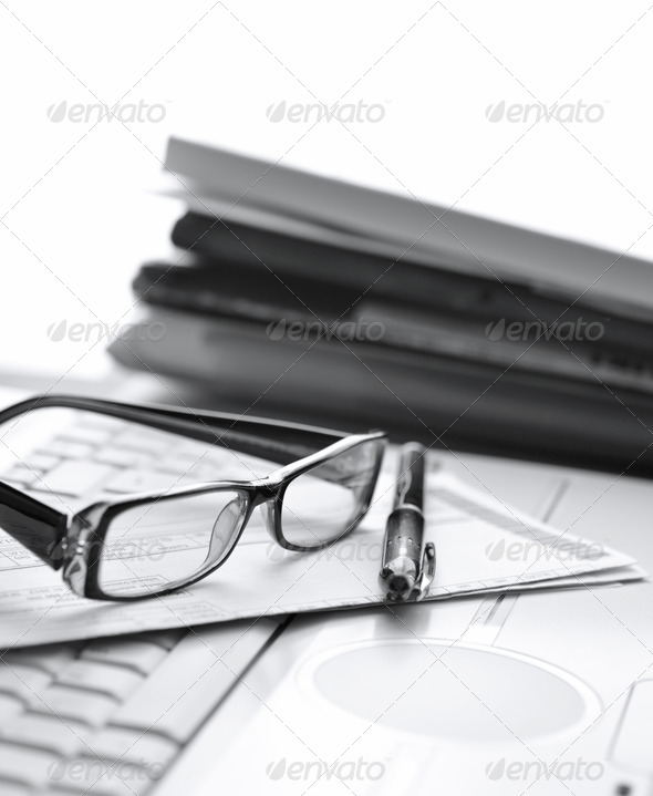 Office job - Stock Photo - Images