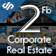 2 Facebook Cover Corporate and Real Estate