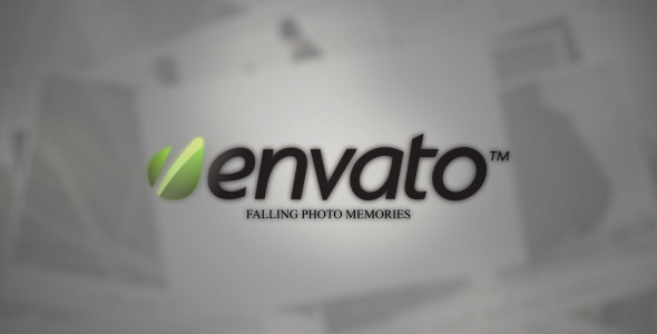 VideoHive Falling Photo Memories 1768718