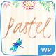 Pastel Floral Art WordPress