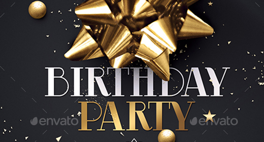 Birthday Party   Flyers Templates