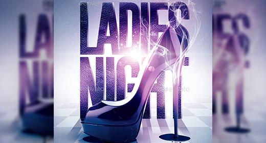 Ladies Night Flyer Templates