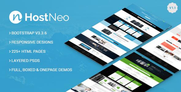 HostNeo - Professional Web Hosting Responsive HTML5 Template
