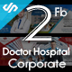 2 Facebook Cover Hospital Doctor and Corporate