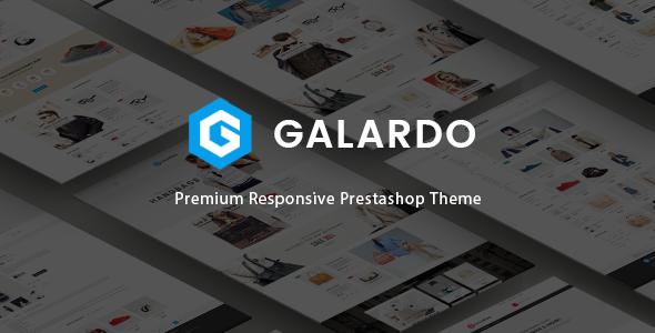 Galardo - Responsive Fashion Prestashop Theme