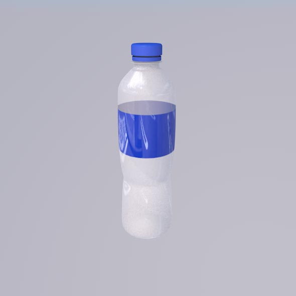 Bottle Plastic - 3DOcean Item for Sale