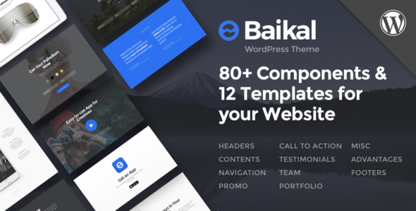Baikal - Responsive Multi-Purpose WordPress Theme