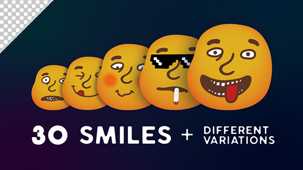 Download 30 Smiles (Emotions Pack) nulled download