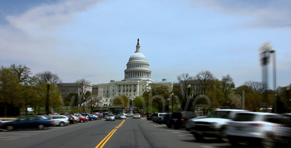 Capital Hill Time Lapse Drive Full HD