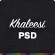 Khaleesi - Interior Design Agency - PSD template