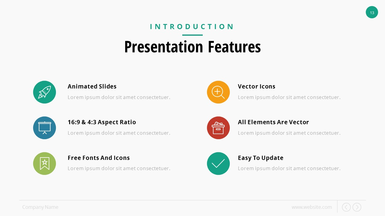 SlidePro - Business PowerPoint Presentation Template by