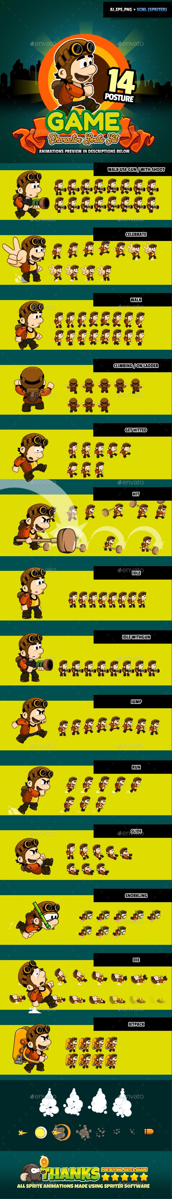 Character Set v02 (Sprites)