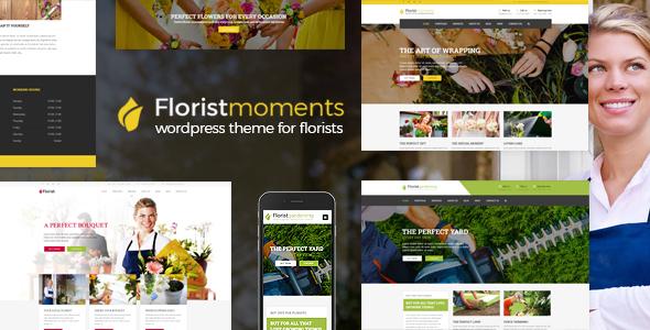 Florist - WP Florist & Flower shop Theme