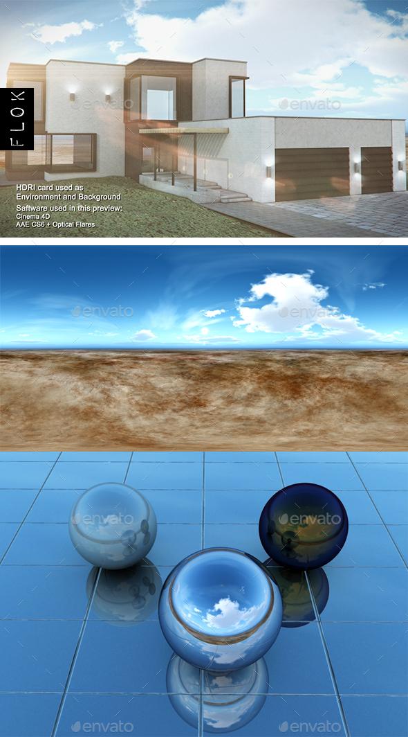 Daylight Desrt 52 - 3DOcean Item for Sale