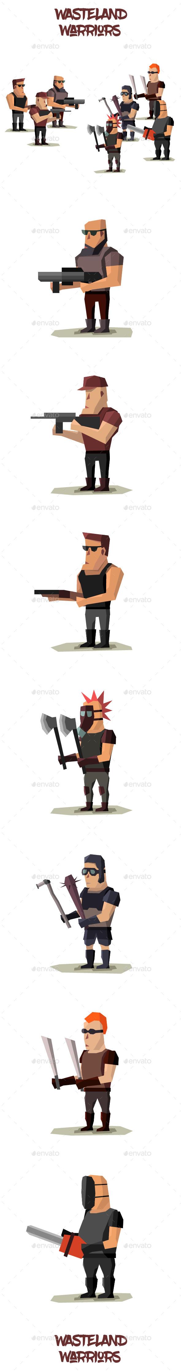 Wasteland Warriors (Sprites)