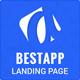 Bestapp Premium App Showcase Landing Page