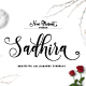 Sadhira Script - Calligraphy Typeface