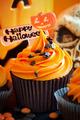 Happy Halloween cupcake