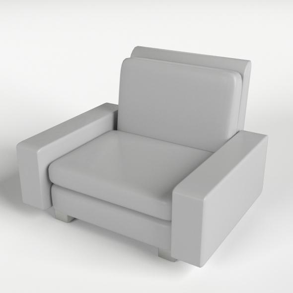 Armchair 9 - 3DOcean Item for Sale