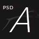 Alexandra - Creative Blog / Portfolio PSD Template