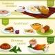 British Cuisine Breakfast, Christmas Dinner Banner