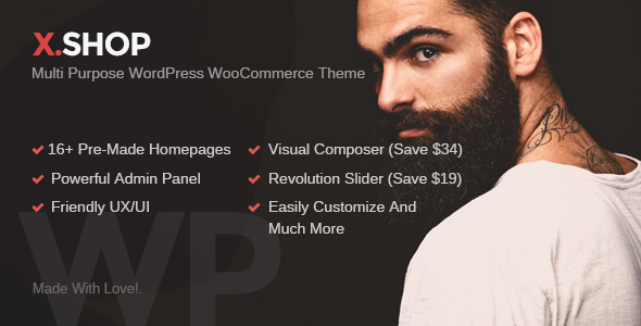 Download X-Shop Kute WordPress WooCommerce Theme nulled download