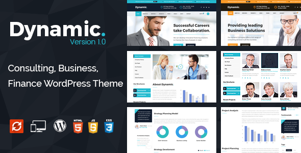 Download Dynamic - Finance and Consulting Business WordPress Theme nulled download