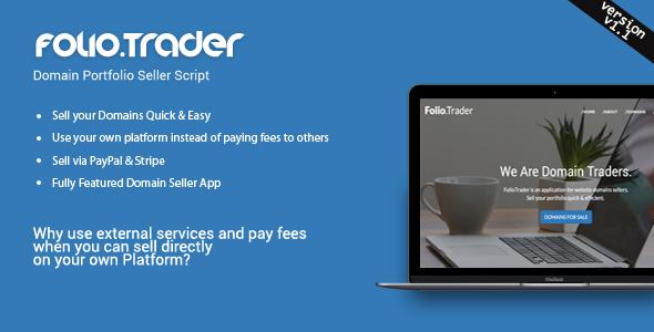 FolioTrader - Domain Portfolio Seller Script