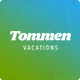 Tommen - Traveling & Vacations PSD Template