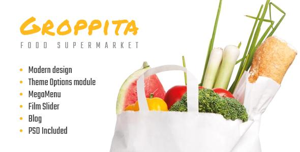 Gropitta – Food Supermarket Magento 2 Theme (Shopping) Download