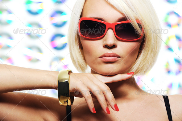 Glamour girl - Stock Photo - Images