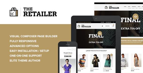 The Retailer - Responsive WordPress Theme