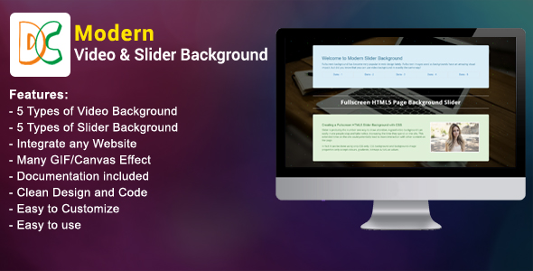 Download Modern Video and Slider Background nulled download