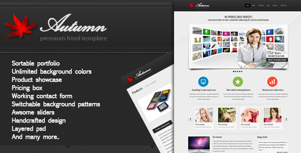 Autum - Multipurpose HTML Template