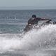 Jet Ski Splashing Water