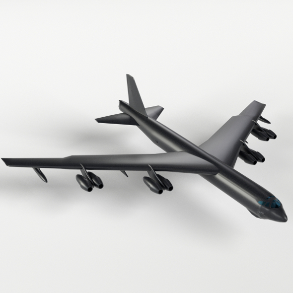 B-52 Stratofortress - 3DOcean Item for Sale