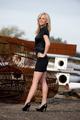 Beautiful blond posing - PhotoDune Item for Sale