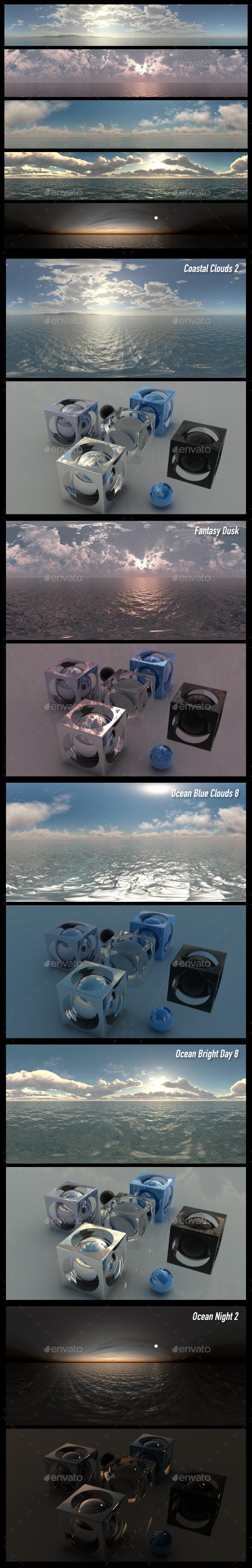 HDRI Pack 12 - 3DOcean Item for Sale