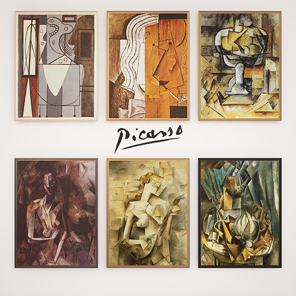 Picasso - 3DOcean Item for Sale